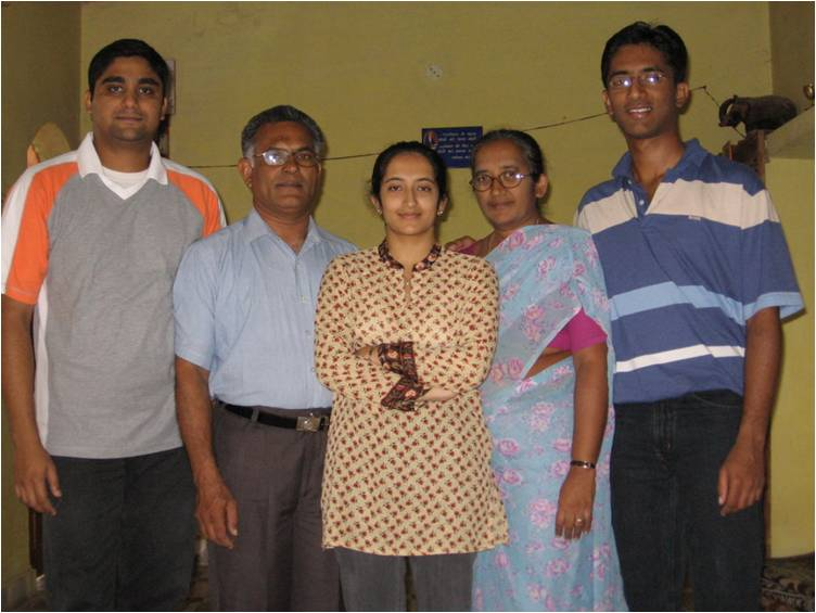 Rev Ninan V Zachariah & Family